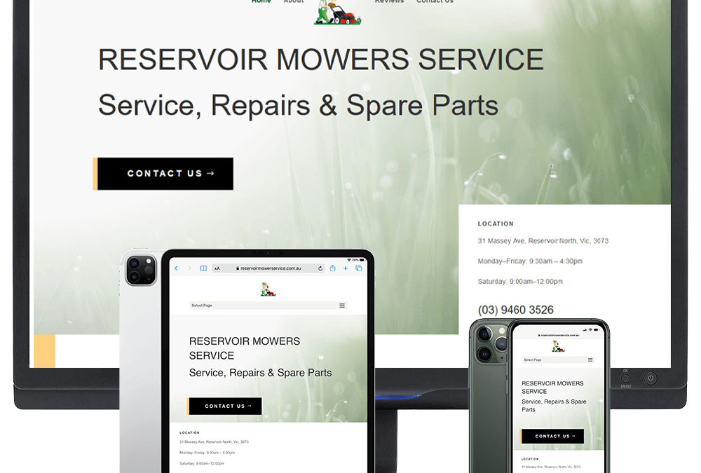 Reservoir Mower Service